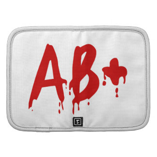 Blood Group AB+ Positive #Horror Hospital Folio Planners