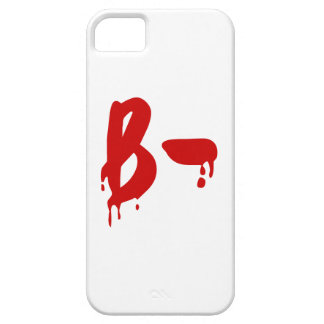 Blood Group B- Negative #Horror Hospital iPhone 5 Covers