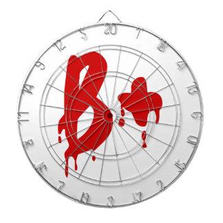 Blood Group B+ Positive #Horror Hospital Dartboard