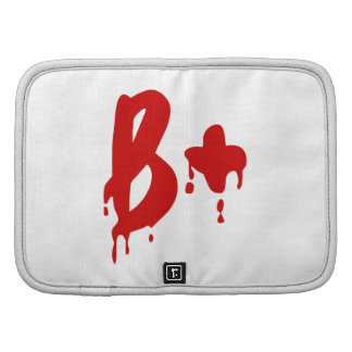 Blood Group B+ Positive #Horror Hospital Organizer