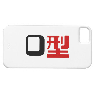 Blood Group O Japanese Kanji iPhone 5 Covers