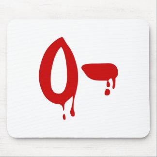 Blood Group O- Negative #Horror Hospital Mouse Pad