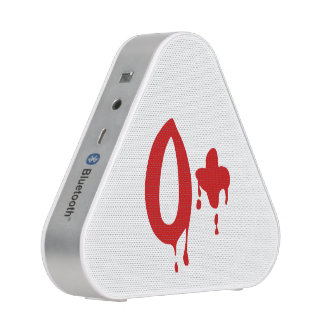 Blood Group O+ Positive #Horror Hospital Bluetooth Speaker