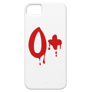 Blood Group O+ Positive #Horror Hospital iPhone 5 Case