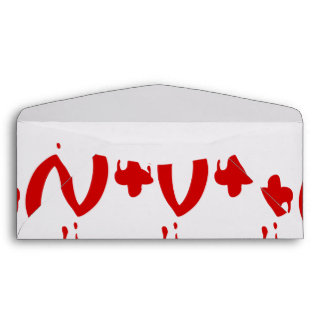 Blood Group O+ Positive #Horror Hospital Envelope