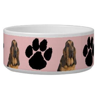 Blood Hound Dog Water Bowl