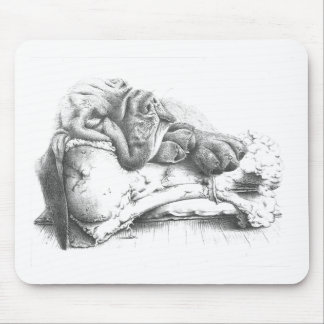 Blood Hound puppy Mouse Pad