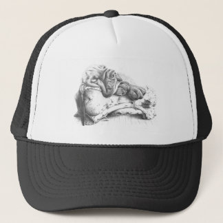 Blood Hound puppy Trucker Hat