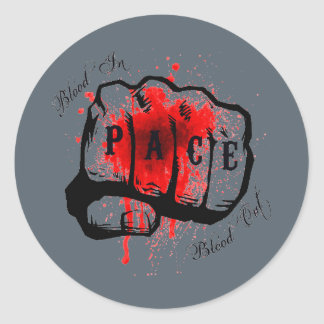 Blood In, Blood Out Sticker