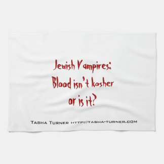 Blood it can' be kosher towels
