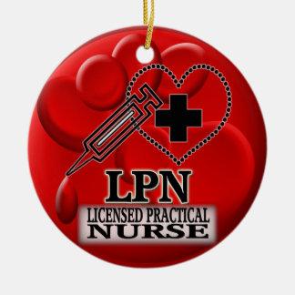 BLOOD LPN ORNAMENT - LICENSED PRACTICAL NURSE