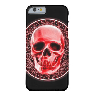 Blood Magick Ritual Skull Symbol Barely There iPhone 6 Case