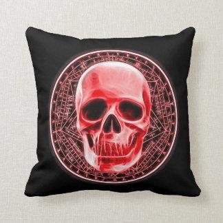 Blood Magick Ritual Symbol Plush Throw Pillow