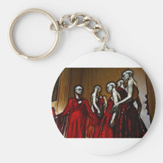 Blood Mascarade Basic Round Button Keychain