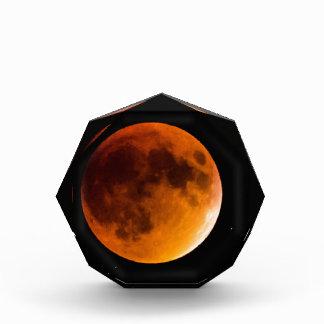 Blood Moon Acrylic Award