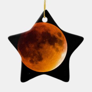 Blood Moon Ceramic Ornament