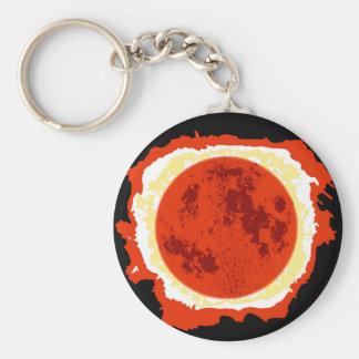Blood Moon Eclipse Keychain