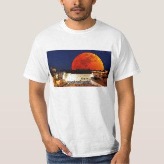 Blood Moon over Jerusalem Tee Shirt