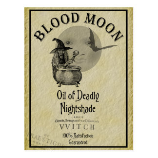 Blood Moon Postcards