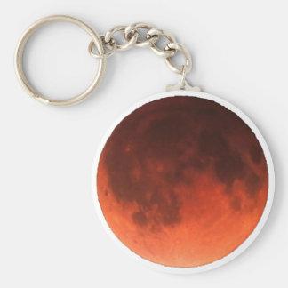 Blood Moon Tetrad Basic Round Button Keychain