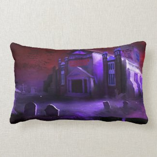 Blood Moon University Pillow