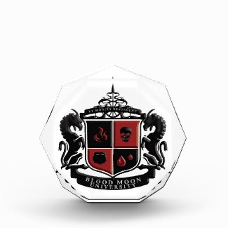 Blood Moon University School Crest