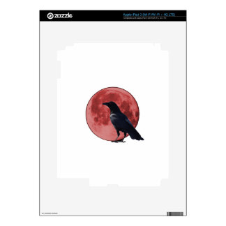 Blood Moon with Crow Decal For iPad 3