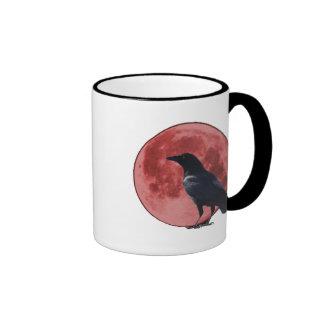 Blood Moon with Crow Mug