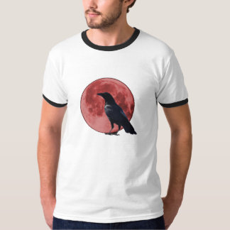 Blood Moon with Crow T-shirt