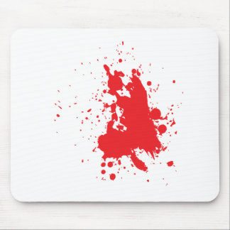 blood mouse pad