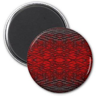 Blood Network 2 Inch Round Magnet