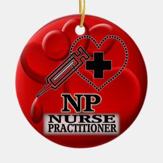 BLOOD NP CHRISTMAS ORNAMENT - NURSE PRACTITIONER