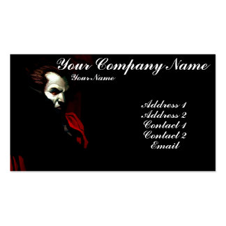 Blood of Darkness Business Card Template