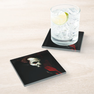 Blood of Darkness Glass Coaster