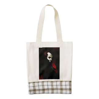 Blood of Darkness Zazzle HEART Tote Bag
