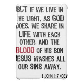 Blood of Jesus iPad Case