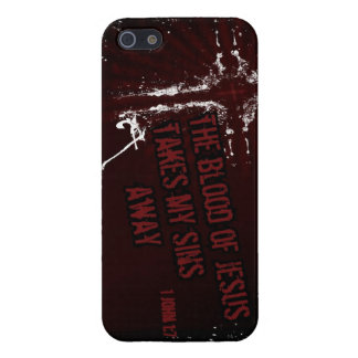 Blood of Jesus takes my sins away iPhone Case Cases For iPhone 5