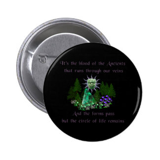 Blood Of The Ancients Pinback Button
