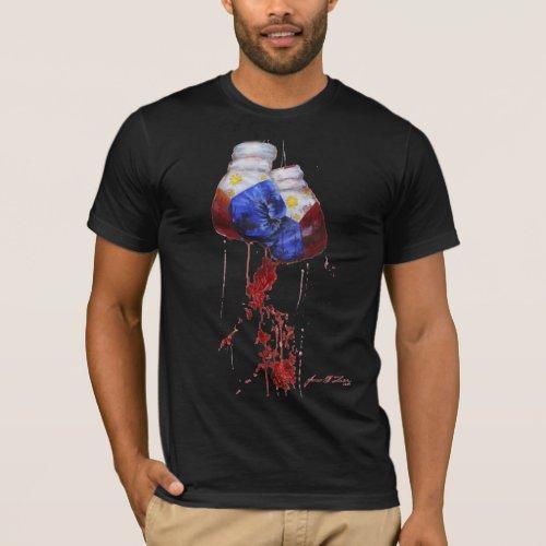 Blood of the Filipino Warrior Dark T_Shirt