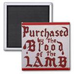 Blood of the Lamb Fridge Magnet
