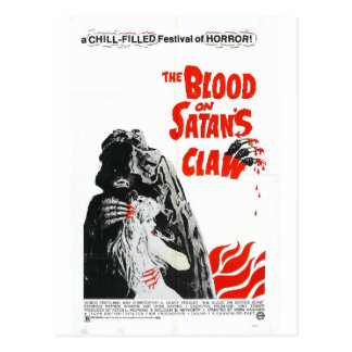 BLOOD ON SATAN'S CLAW POSTCARD