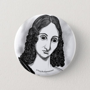 Blood On The Moon   Mary Shelley Artwork Button