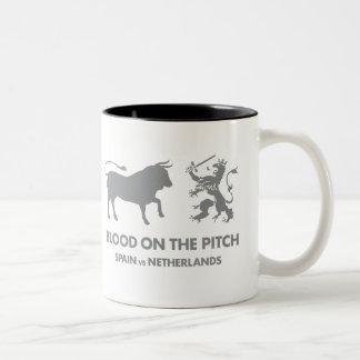 Blood on the Pitch Coffee Mug