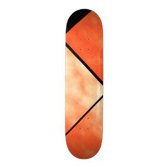 Blood Orange Black White Cloud Custom Deck 0