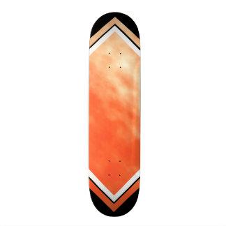 Blood Orange Black White Cloud Custom Deck 1