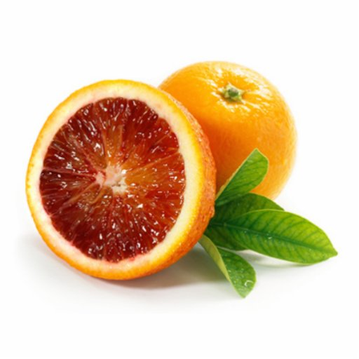 blood orange photo cutout