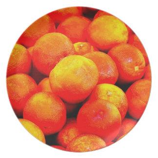 Blood Orange Plate