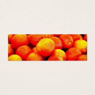 Blood Oranges Mini Business Card
