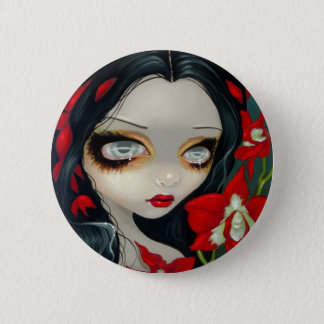 """Blood Orchid"" Button"
