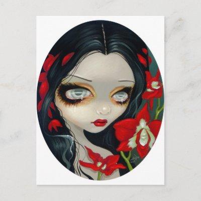 'Blood Orchid' Postcard $ 1.70